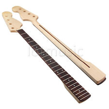 Electric Bass Guitar Neck For JB Parts Replacement Maple Wood Rosewood 21 Fret