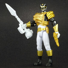 "Power Rangers Megaforce Ultra BLACK RANGER 4"" Action Figure Bandai 2013"