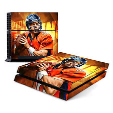 Skin Decal Cover Sticker for Sony PlayStation 4 PS4 - Peyton Manning Broncos