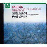 LN= Bela Bartok 2 Portraits Op. 5 ; 2 Images Op. 10 ; 4 Pieces Op. 12