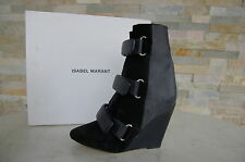 ISABEL MARANT Size 36 Ankle Boots Boots Fur Boots midnight new