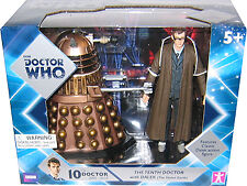 "5"" Doctor Who 10th Doctor (David Tennant), Crucible Dalek Action Figure Set"