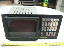 FANUC MDI/CRT Unit 10M CNC A02B-0073-C001 Control TESTED Monitor TR- Screen A61L