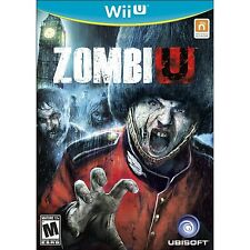 ZombiU [Nintendo Wii U, NTSC Video Game, Zombie Survival, FPS] Brand NEW