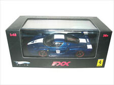 FERRARI ENZO FXX ELITE BLUE #24 LTD 1/43 DIECAST MODEL CAR BY HOTWHEELS N5606