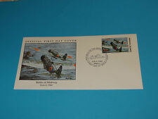 WWII FDC W43-4 Midway Japan Kate Type 97 Torpedo