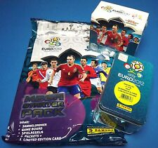 Panini em Adrenalyn XL euro 2012-Starter pack + DISPLAY 50 Booster + Tin OVP