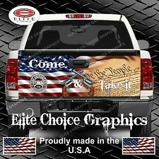 Gun Rights Truck Tailgate Wrap Vinyl Graphic Decal Sticker Wrap