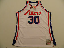 EM49 Mitchell & Ness 76ers Sixers Authentic George McGinnis White #30 Jersey 54