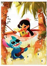 "Disneyland Postcard - WonderGround Gallery - ""Music to My Ears"" by June Kim"