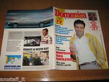 DdC 1988/15=ENRICO MONTESANO=ALBERTO TOMBA=LORENZA FOSCHINI=JOHARA=SANDRA MILO=