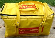 ADVERTISING KODAK KODACHROME CAMERA FILM BAG PROMO PURSE 60'S