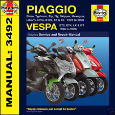 Piaggio Sfera Typhoon Zip 50 80 125 X9 X8 Scooters 1991-2006 Haynes Manual 3492