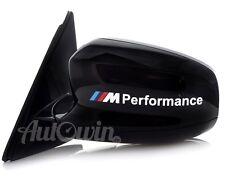 BMW X5 Series E70 E70LCI F15 /// M Performance White Sticker Logo Emblem 2x pcs.