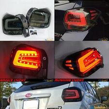 11 12 13 14 15 SUBARU XV CROSSTREK Impreza Sport Wagon HB SMOKE LED TAIL LIGHTS
