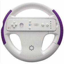 Memorex 32020022300 Wii Racing Wheel With Purple Grips NEW