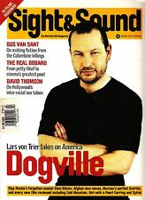 Sight and Sound February 2004 Lars von Trier Dogville Gus Van Sant Godard