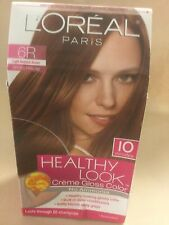 L'Oreal Healthy Look Hair Color,LIGHT RED BROWN 6R / SPICED PRALINE ORIGINAL