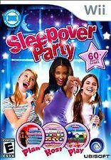 Sleepover Party - Nintendo Wii by