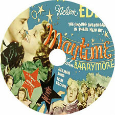 Maytime DVD Jeanette MacDonald Nelson Eddy John Barrymore V Rare 1937