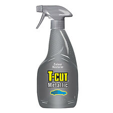 T Cut METALLIC Colour Restorer Car Polish Wax Scratch Remover Spray 500ml
