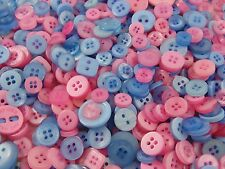 ☆☆ 100 x Small Mixed Buttons   Bulk/Job Lot/Scrapbooking/Card Making/Crafting ☆☆