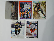 Mario Lemieux Pittsburg Penguins cards Lot of 5
