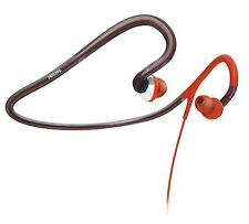 Philips SHQ4000 Action Fit Sports Neckband Headphones Sweatproof Washable