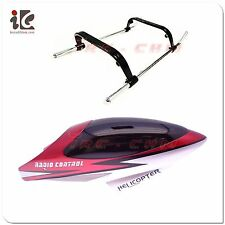 HEAD COVER / CANOPY + LANDING GEAR FOR DOUBLE HORSE DH 9097 RC HELICOPTER PARTS