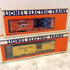 IONEL 6-9887 EXPRESS REEFER FRUIT GROWERS CAR &6-9492 BOX CAR -NEW IN BOX
