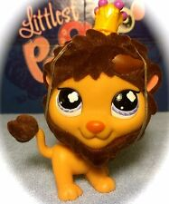 Littlest Pet Shop #809 Brown Lion w/ FUZZY Mane BLEMISHED