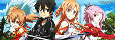 Sword Art Online  Manga Anime Portrait Panorama HQ Print long Poster 95 x 33 cm