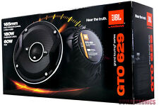 "JBL GTO629 6-1/2"" Car Speakers/6.5"" Car Audio Speaker Grand Touring Series NEW"