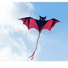 Polyester Flying Kites 78.7'' Huge Bat Kite Toys For Outdoor Activiy Kids Gift