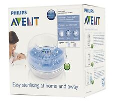 Avent Microwave Steriliser - 4 bottles in 2 minutes - Steam Steriliser - New