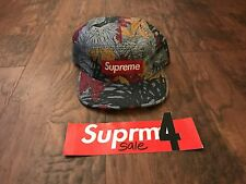 Rare Supreme SS11 Leaves Camp Cap, Slate DS Brand New CDG PCL Box Logo Palace