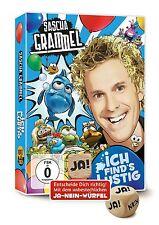 SASCHA GRAMMEL - ICH FIND'S LUSTIG (DOPPEL-DVD MIT JA-NEIN-WÜRFEL)  2 DVD NEU