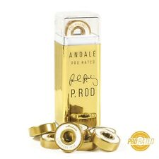 Andale PROD Bearings w/Spacers White Gold Abec 7