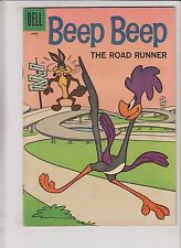 Beep Beep the Road Runner #8 FN+ april 1961 - wile e. coyote - looney tunes
