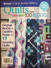 Quilts From Quiltmaker's 100 Blocks Original Blocks Fall 2015 FREE SHIPPING