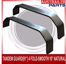 "2 X TANDEM GUARD 91"" 4 FOLD-SMOOTH 10"" NATURAL"