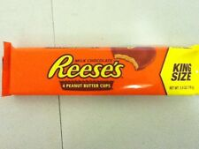 PACK OF 4 KING SIZE REESE'S MILK CHOCOLATE PEANUT BUTTER CUPS - SHIP WORLDWIDE