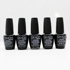 LOT 5 - OPI Axxium Gel System NO Cleanse UV Top Sealer Coat 15mL/ 0.5oz AX 212