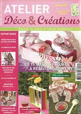 ATELIER DECO&CREATION N°10  CREER BIJOUX EN PATE POLYMERE  / SCRAPPEUSE-BRODEUSE
