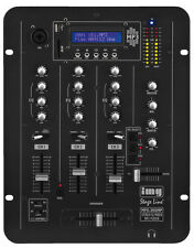IMG Stage Line MPX-30DMP Stereo DJ Mixing Desk with integrated MP3 player
