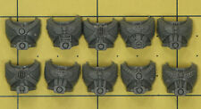 Warhammer 40K Space Marines Tactical Squad Torso Fronts