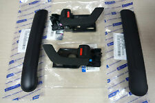 HYUNDAI TIBURON COUPE  DOOR INSIDE HANDLE & GRIP COVER PART SET BLACK 2003~2008