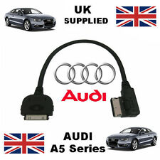 AUDI AMI MMI 4F0051510K A5 Series para Apple iPhone 3gs 4 4s iPod Cable Usb Y Aux