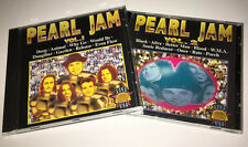 Pearl Jam LIVE USA 1994 lot 2x CD RARE MINT silver bootleg eddie vedder