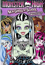 Monster High: New Ghoul at School (DVD, 2015, Canadian)